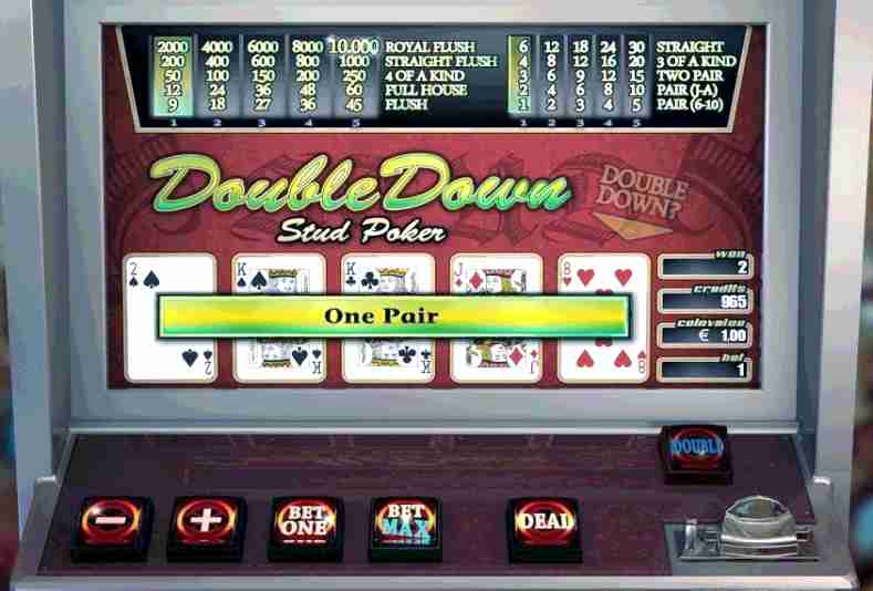 Double down casino game brings you profits